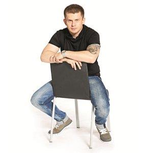 Dżokej i krzesło jak tarcza