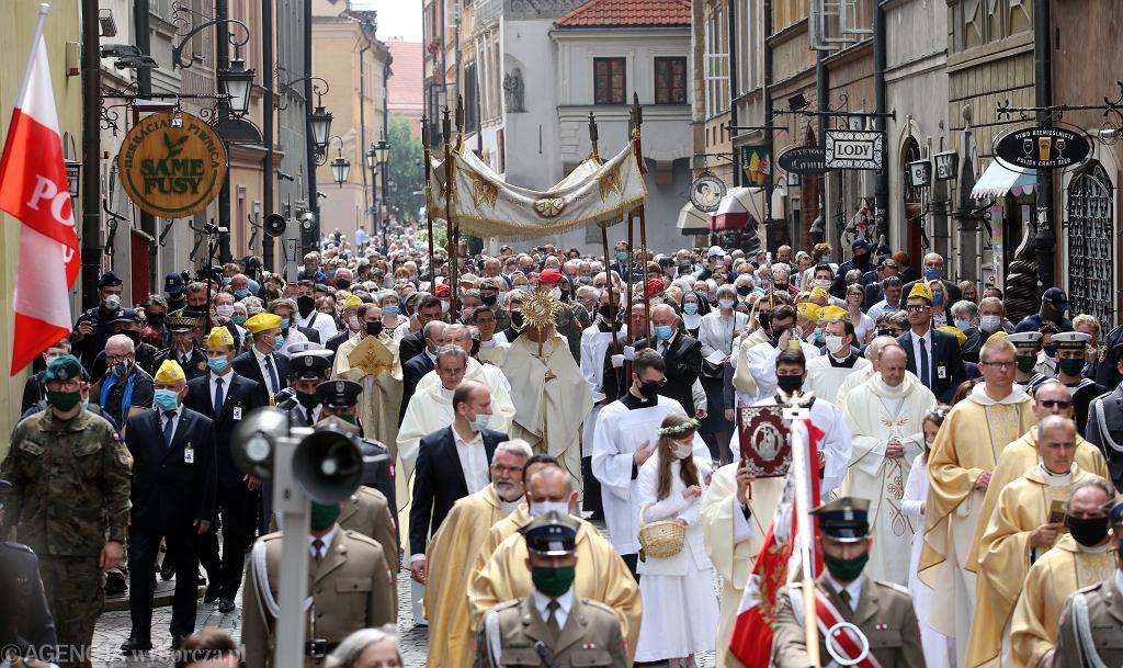 Procesja w Warszawie