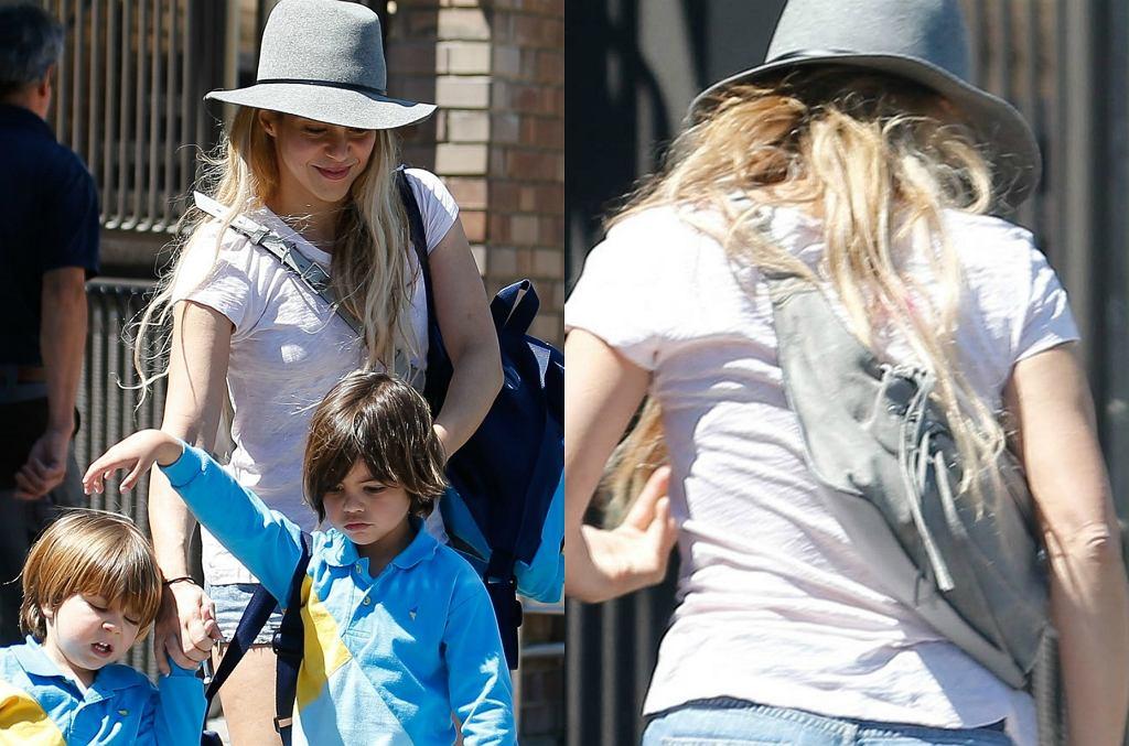 Shakira z synami