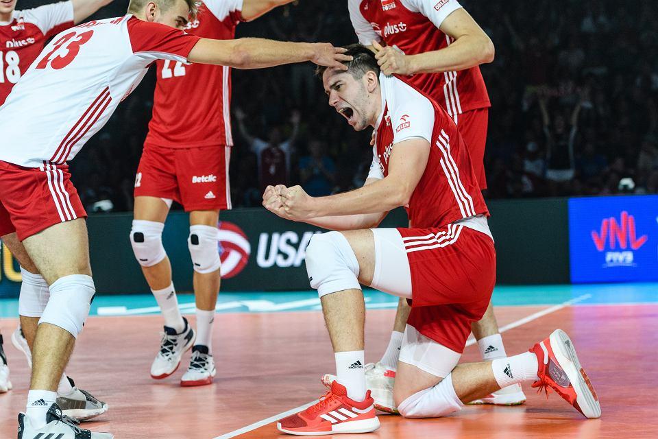 Polska - Brazylia 3:0. Liga Narodów, mecz o brąz