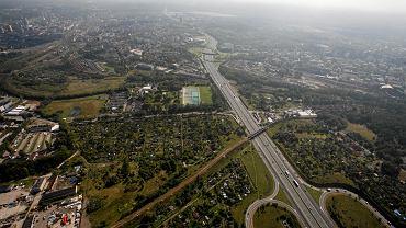 Autostrada A4 z lotu ptaka