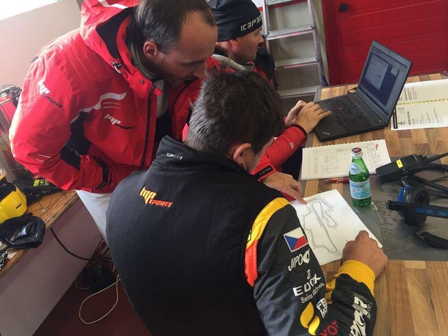 Robert Kubica przed 12-godzinnym wyścigiem w Mugello