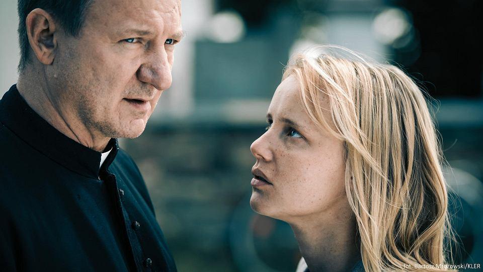 'Kler' w reżyserii Wojciecha Smarzowskiego. Robert Więckiewicz i Joanna Kulig
