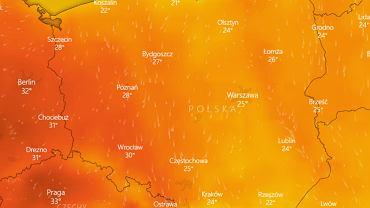 Pogoda podzieli Polskę na pół