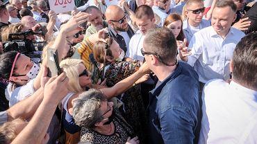 Wybory prezydenckie 2020. Andrzej Duda w ostatnim dniu kampanii odwiedza Konin