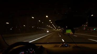 Ponad 300 km/h po obwodnicy Warszawy