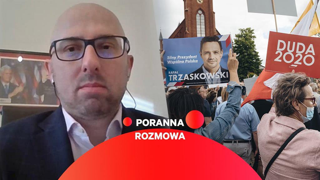 Krzysztof Łapiński gościem Porannej Rozmowy Gazeta.pl