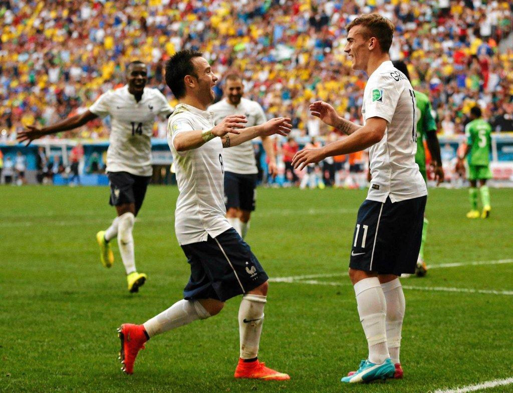 Francja - Nigeria 2:0
