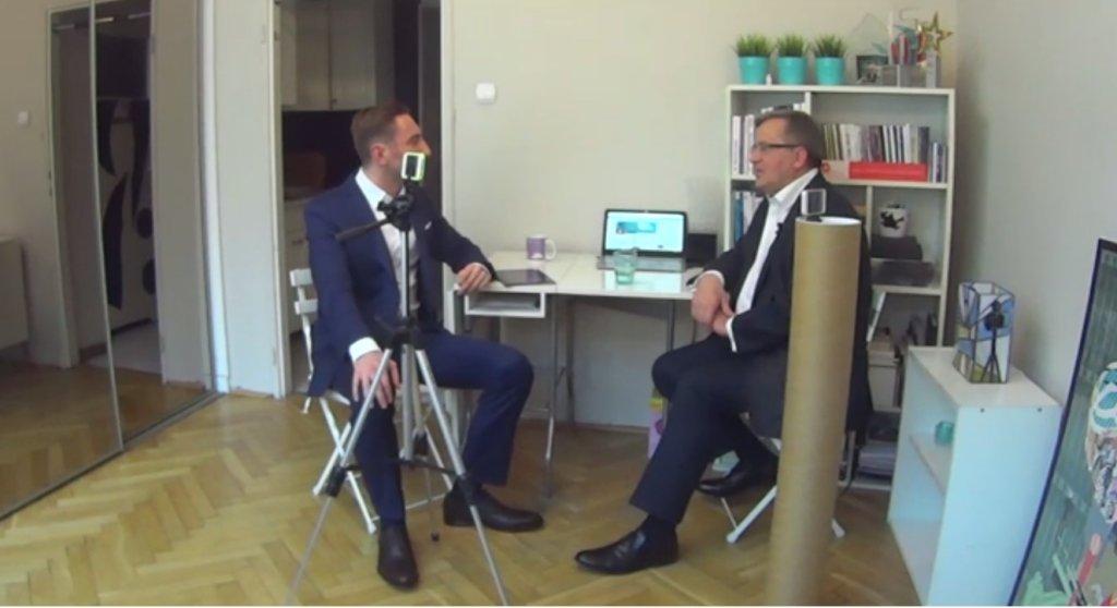 Bronisław Komorowski udzielił wywiadu w