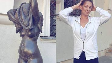 Joanna Liszowska w samym bikini promuje nurt 'body-positive'