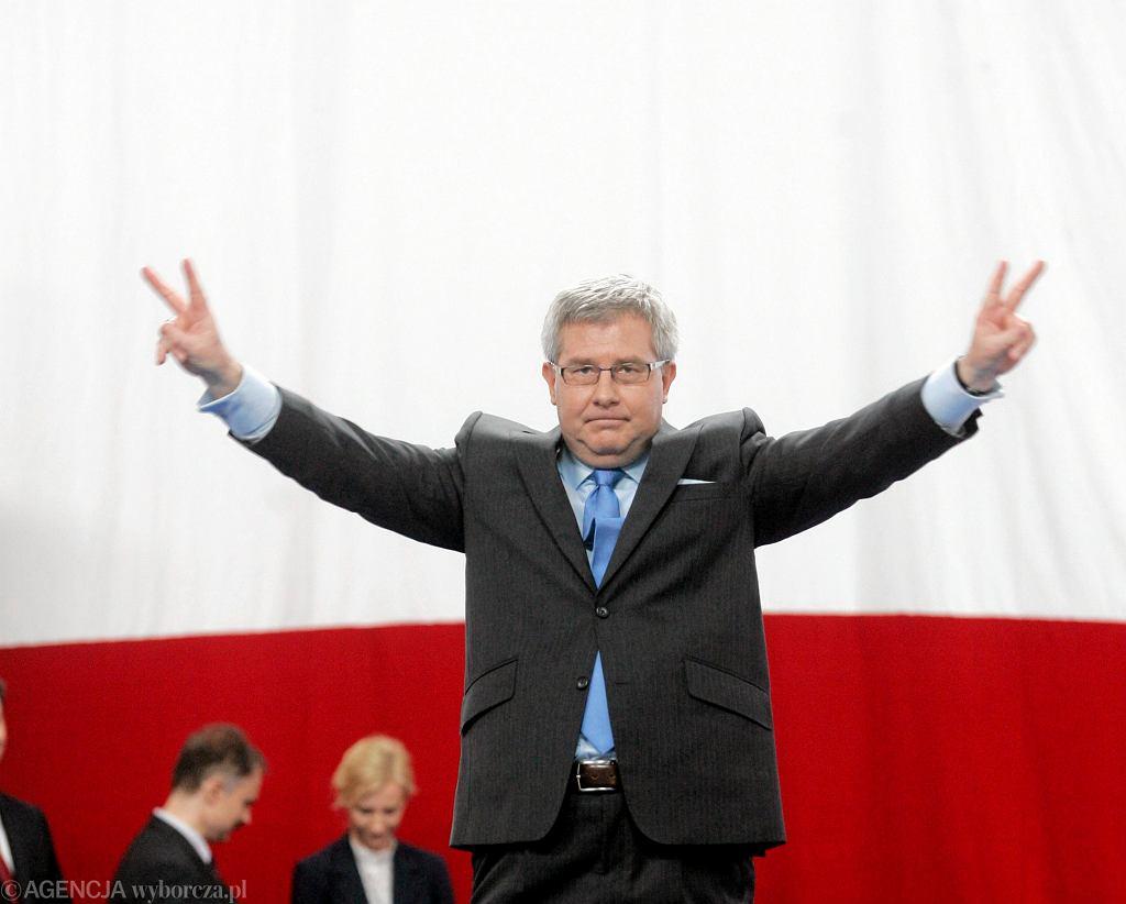 Ryszard Czarnecki - przepadł w głosowaniu. Eurodeputowani pozbawili go funkcji wiceprzewodniczącego PE