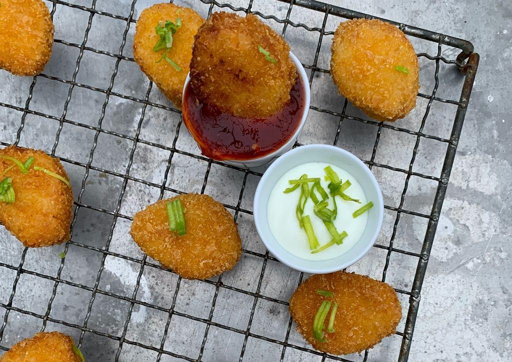Domowe nuggetsy w wersji fit