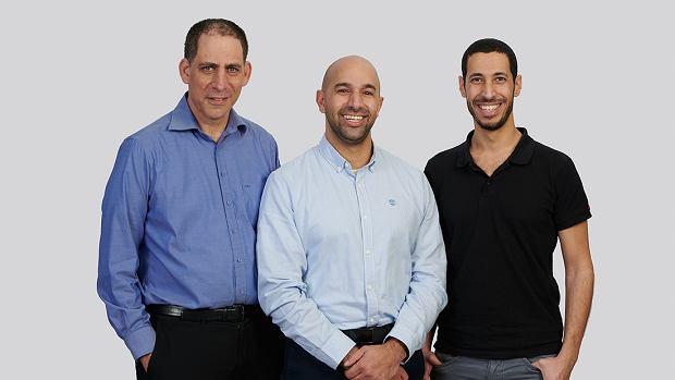 Założyciele startupu TriEye
