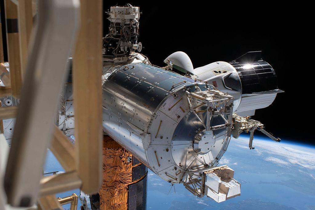 Statek kosmiczny Crew Dragon odłączył się od Międzynarodowej Stacji Kosmicznej