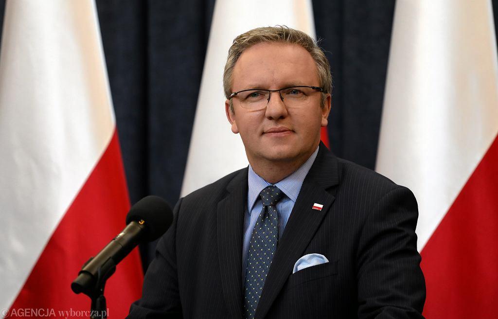 Minister Krzysztof Szczerski