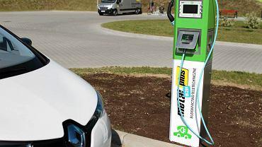 Stacja ładowania aut elektrycznych