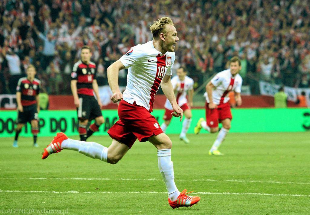 Polska - Niemcy 2:0. Sebastian Mila