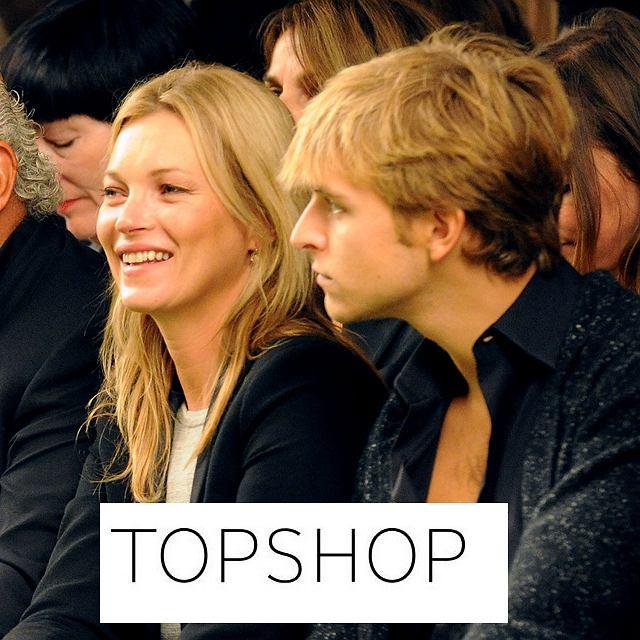 Kate Moss dla Topshop