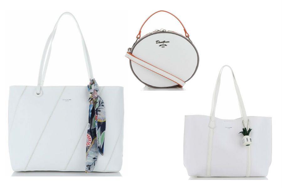 David Jones torebka biała