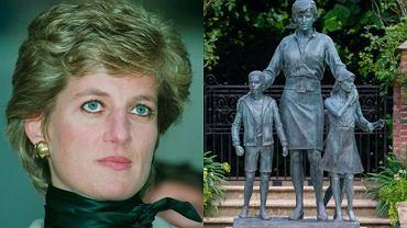 Księżna Diana, pomnik