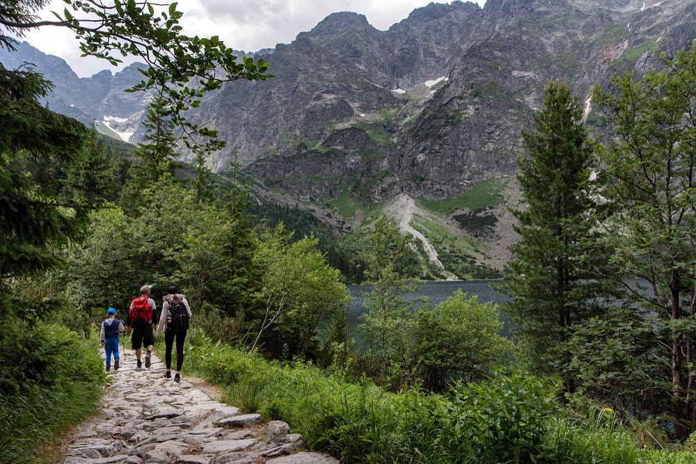 Łatwo zniechęcić dzieci do górskich wycieczek