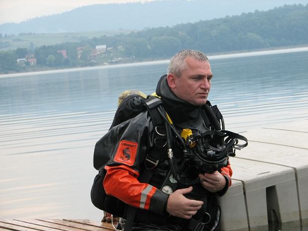 Krzysztof na zgrupowaniu szkoleniowym w Żywcu w 2012 roku (fot. Archiwum prywatne)