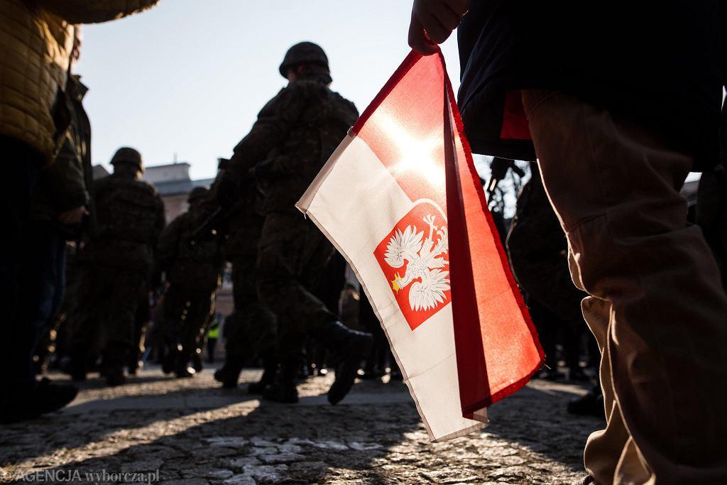 100-lecie odzyskania prze Polskę niepodległości w Lublini.