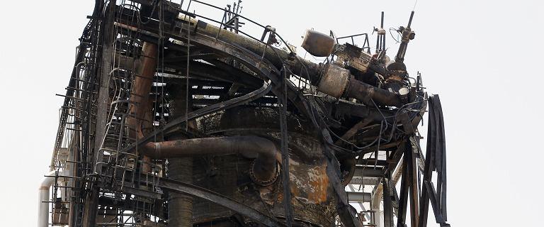 Tak wygląda saudyjska rafineria zaatakowana przez drony [ZDJĘCIA]