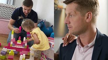 Rafał Mroczek z córką Zosią / Rafał Mroczek