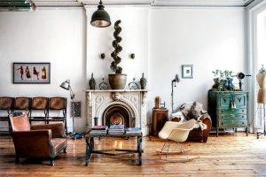 Wnętrza: dekadenckie mieszkanie w nowojorskiej kamienicy