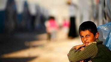 Obóz dla uchodźców z Kobane