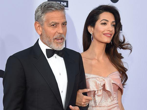 Koniec spekulacji o trzeciej ciąży Amal Clooney. Para w końcu skomentowała plotki