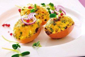 Jajka wielkanocne faszerowane