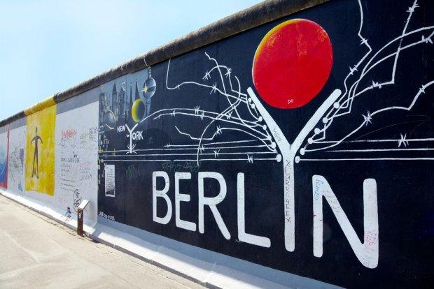 Fragmenty Muru Berlińskiego dzisiaj/ fot. Shutterstock