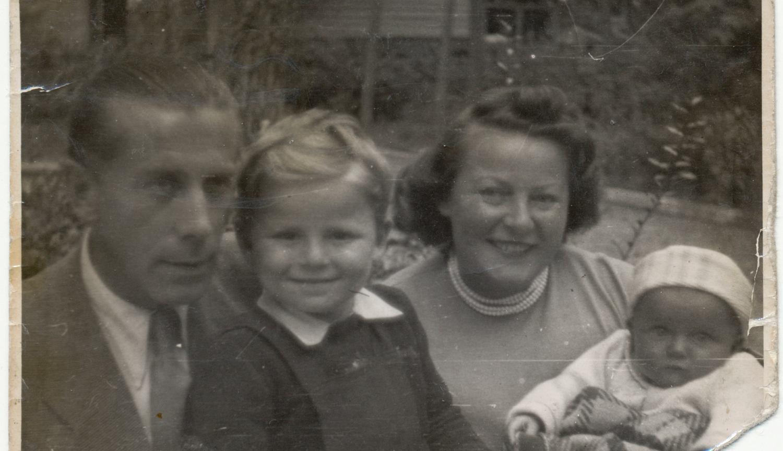 Kazimierz Mann z rodziną (fot. archiwum rodzinne Wojciecha Manna)