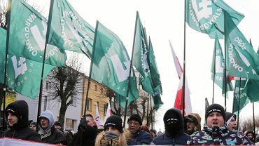 Marsz Żołnierzy Wyklętych  zorganizowany przez ONR