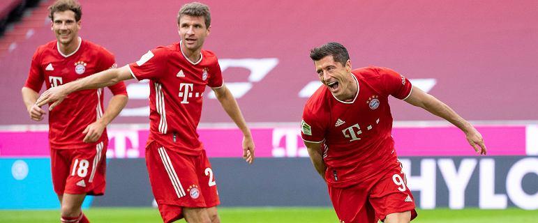 Wielki popis Lewandowskiego! Bayern Monachium rozgromił Eintracht Frankfurt