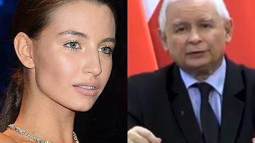 """Julia Wieniawa nie przebiera w słowach po wystąpieniu Jarosława Kaczyńskiego. """"Ohydny dziad"""""""