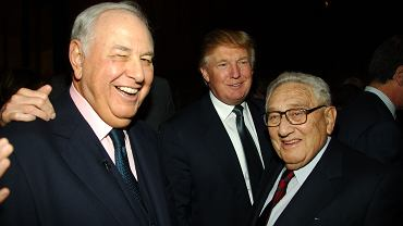 Alfred Taubman, Donald Trump i Henry Kissinger