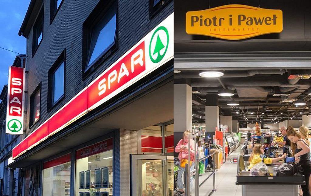 Spar otwiera sklepy w dawnych lokalizacjach sieci Piotr i Paweł