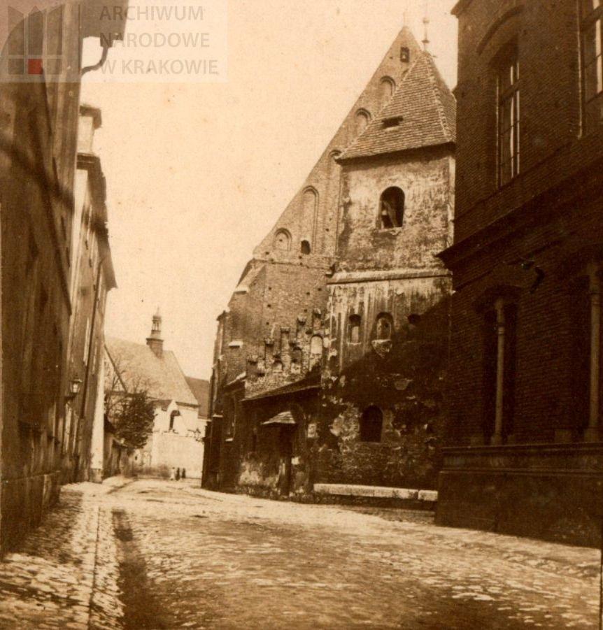 Ul. Św. Marka w XIX wieku, dawne widoki Krakowa