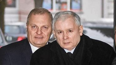 Rok 2016. Lech Kołakowski i Jarosław Kaczyński