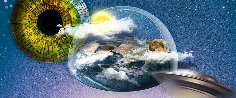 Oni wierzą, że Ziemia jest płaska, a Google Earth to spisek. 10 absurdalnych teorii