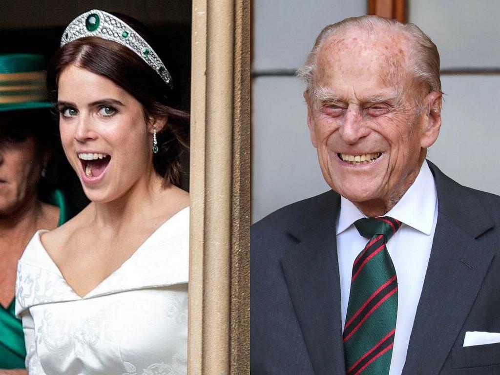 Księżniczka Eugenia, książę Filip