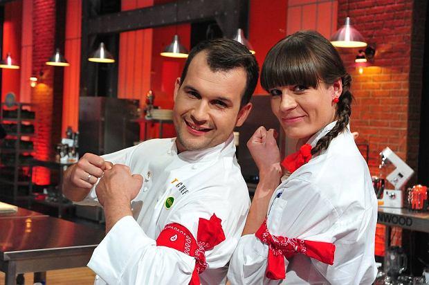 Sylwia Sztandera i Bartek Krężel