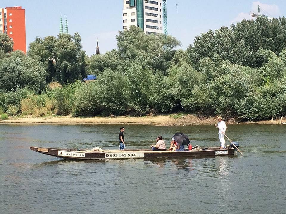 Przeprawa przez rzekę Taxi Wisłą / mat.prasowe