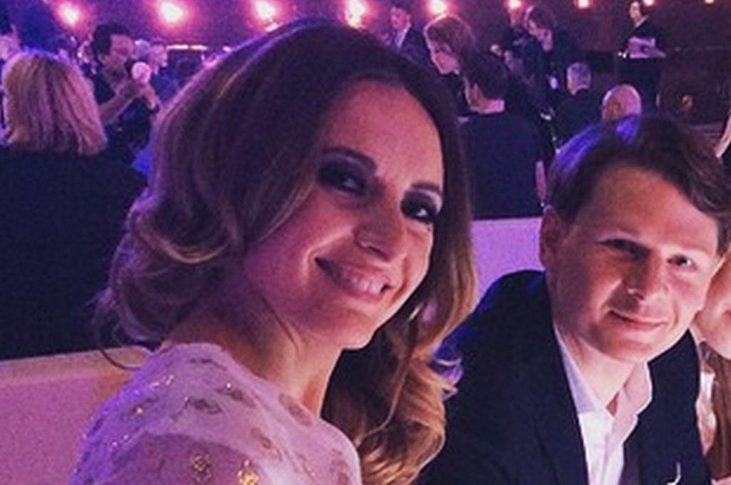 Monika Kuszyńska z mężem