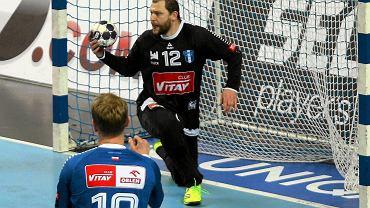 Liga Mistrzów. Orlen Wisła Płock - Bjerringbro-Silkeborg 28:25. Marcin Wichary