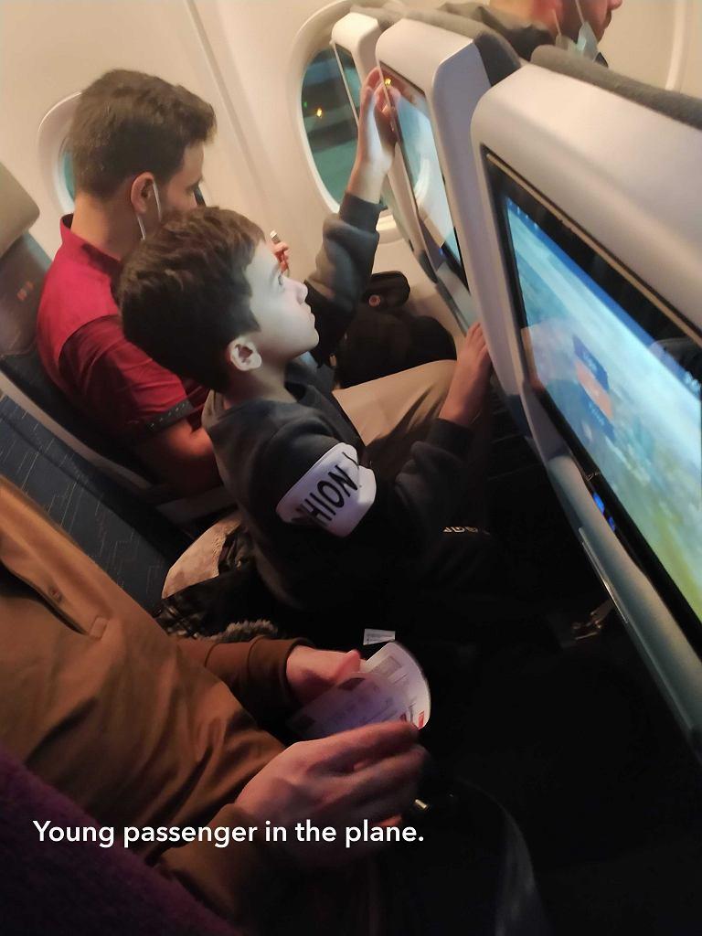 Zdjęcie zrobione podczas lotu