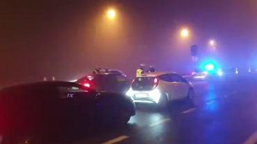 Kontrole policyjne przy wjeździe do Katowic
